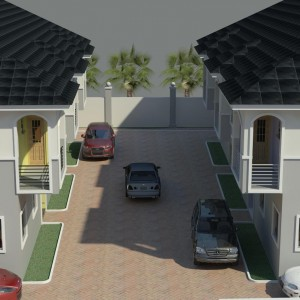 Terrace House Development, Alpha Beach, Lekki, Lagos