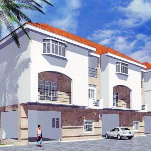 Terrace House Development, Parkview Estate, Ikoyi